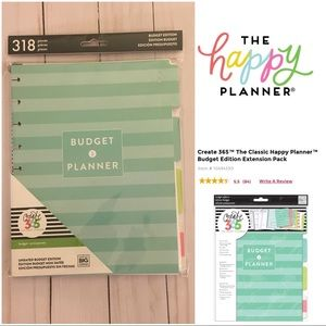 The Happy Planner - Budget Planner insert